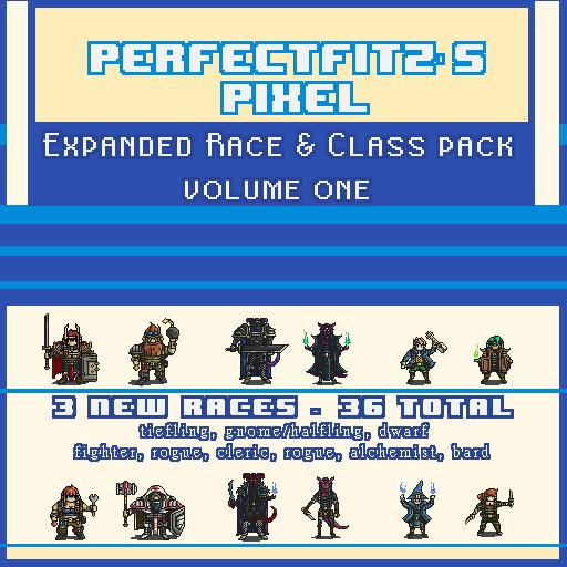 Pixel Expanded Race & Class Pack Vol 1