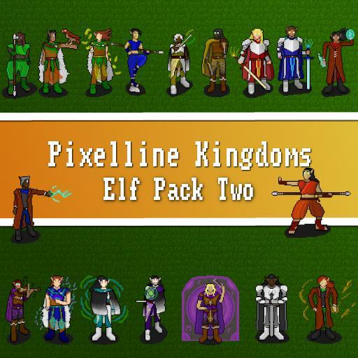Pixelline Kingdoms - Elf Pack Two