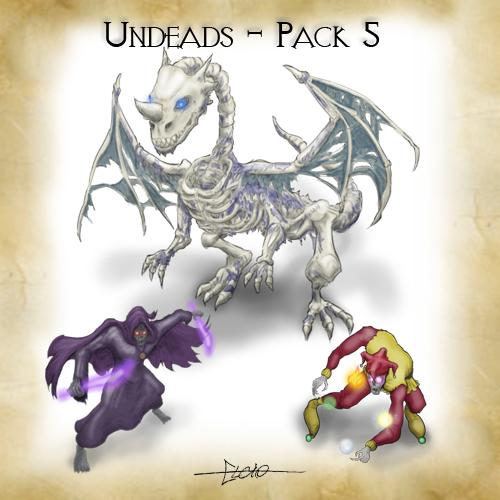 Undeads - Pack 5