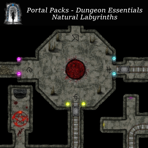 Portal Packs - Dungeon Essentials - Natural Labyrinths
