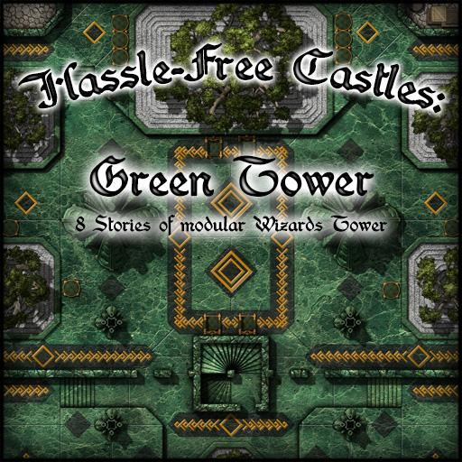 Hassle-Free Castles: Green Tower
