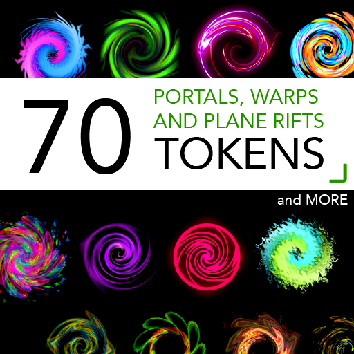 70 Portals, Warps and Plane Rift Tokens