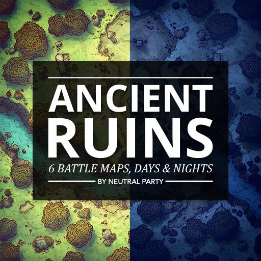 Ancient Ruins Map Pack 1