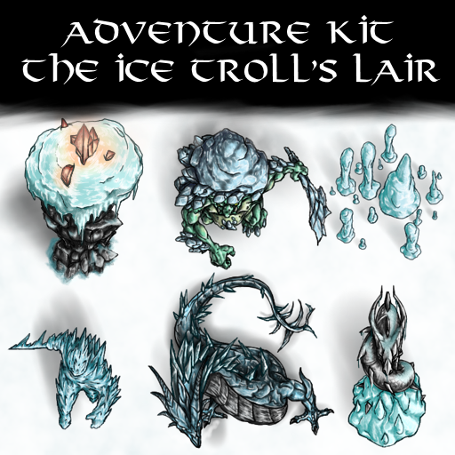 Adventure Kit The Ice Troll's Lair