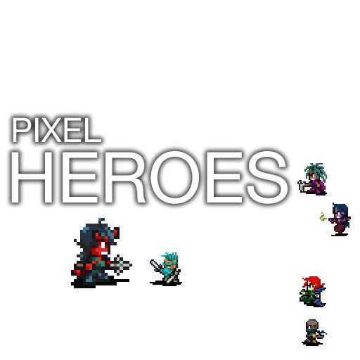 Pixel Starter Heroes