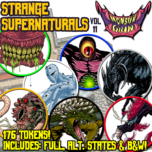 Strange Supernaturals, Vol. 11