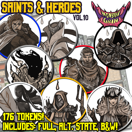 Saints & Heroes, Vol. 10