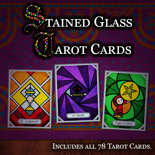 Stained Glass Tarot Cards