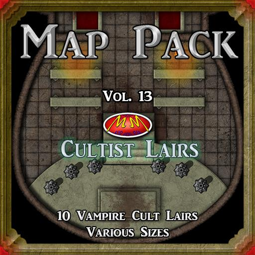 Map Pack Vol 13 Cultist Lair