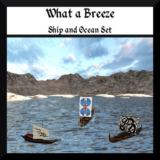 What A Breeze: Ship and ocean Set