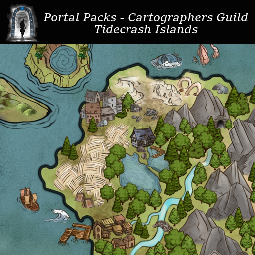 Portal Packs - Cartographers Guild - Tidecrash Islands