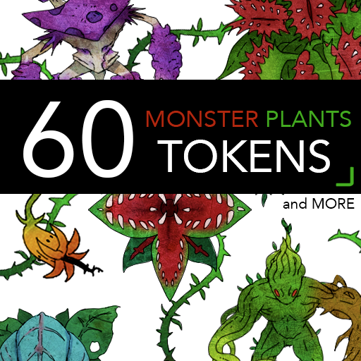 60 Monster Plant Tokens and More