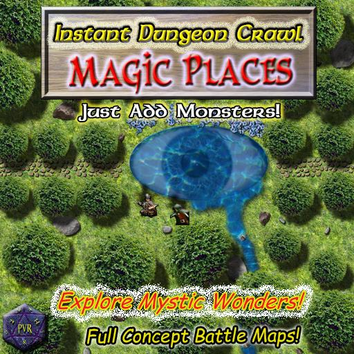 Instant Dungeon Crawl: Magic Places