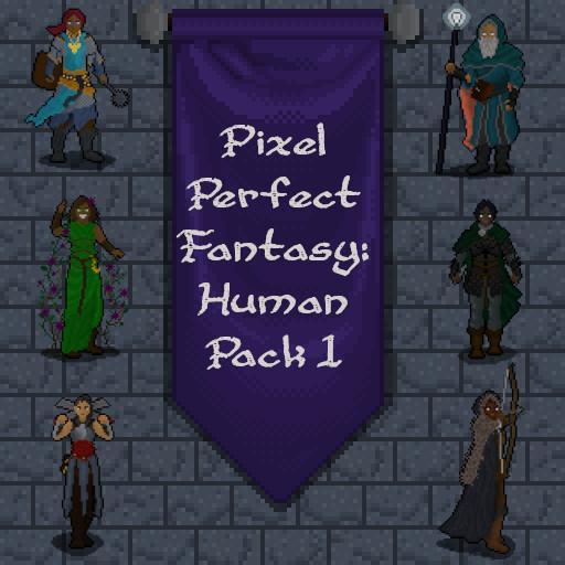 Pixel Perfect Fantasy - Human Pack 1