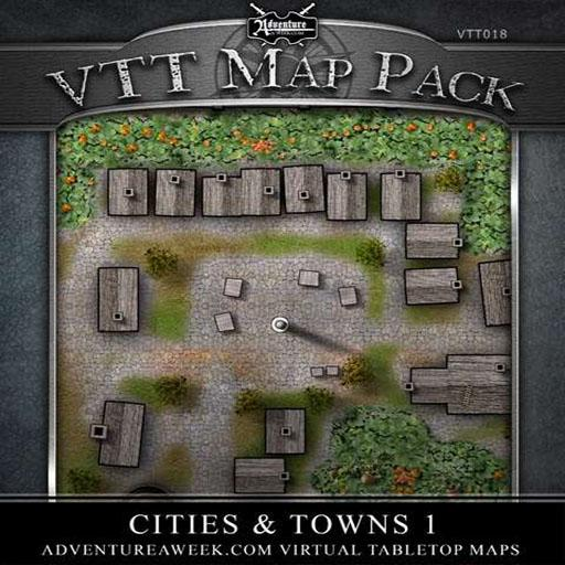 VTT Map Pack: Cities & Towns I