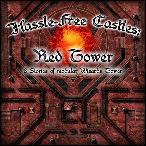 Hassle-Free Castles: Red Tower