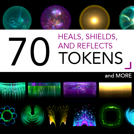70 Heals, Shields and Reflect Tokens