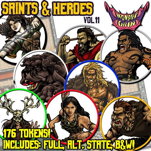 Saints & Heroes, Vol. 11
