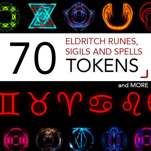 70 Eldritch Runes, Sigils and Spells