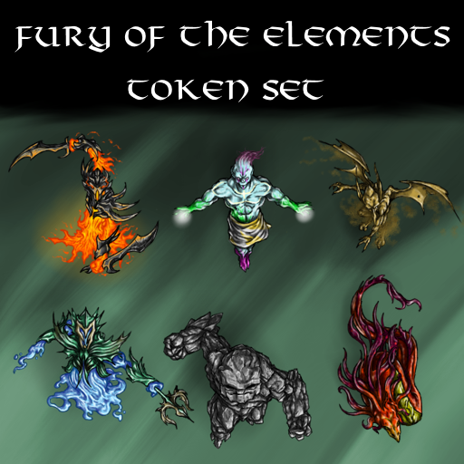 Fury of the Elements Token Set