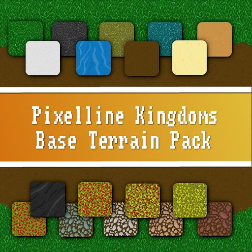Pixelline Kingdoms - Base Terrain Pack