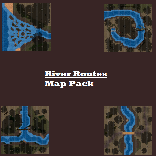 River Routes Map Pack