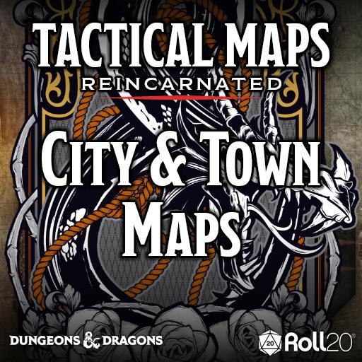 Tactical Maps Reincarnated: City & Town Maps