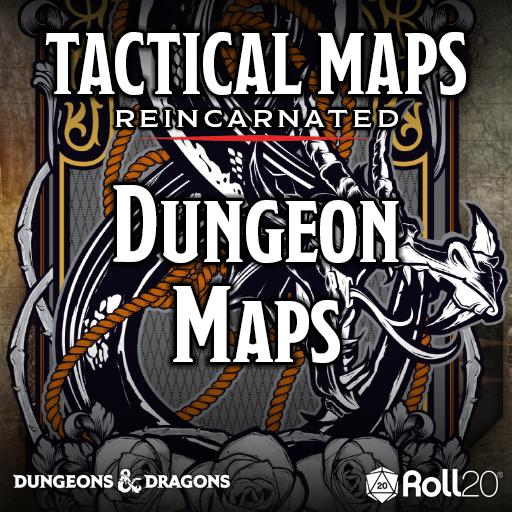 Tactical Maps Reincarnated: Dungeon Maps