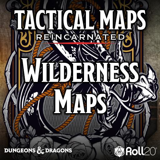 Tactical Maps Reincarnated: Wilderness Maps