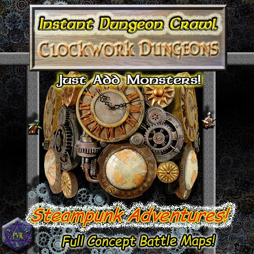 Instant Dungeon Crawl: Clockwork Dungeons