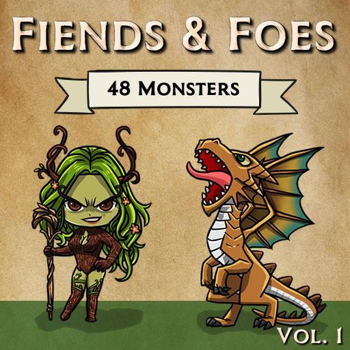 Fiends & Foes, Vol  1 (CR0 - CR1) | Roll20 Marketplace