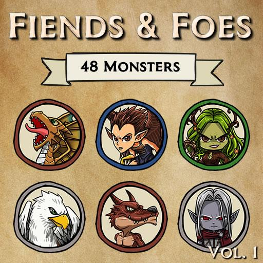 Fiends & Foes Tokens, Vol. 1 (CR0 - CR1)