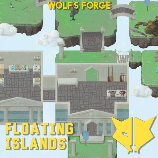 Floating Islands Tiles