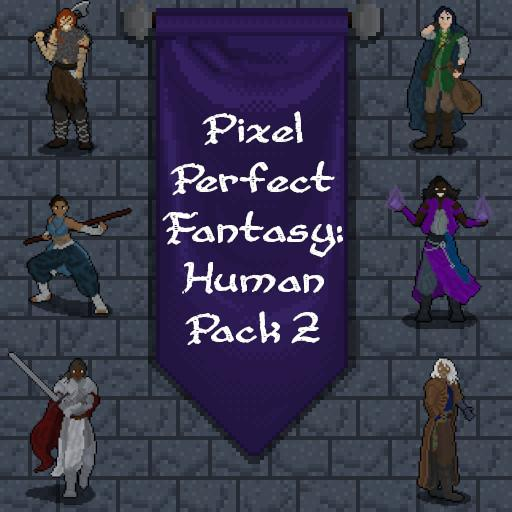 Pixel Perfect Fantasy - Human Pack 2