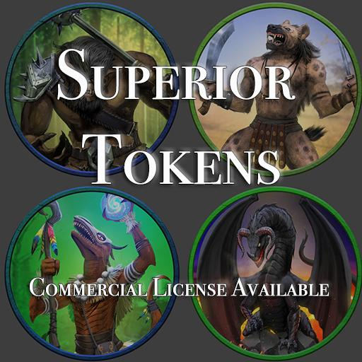 5E SRD Tokens - Dragons, Giants and more