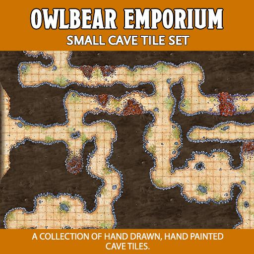 Small Cave Tile Set