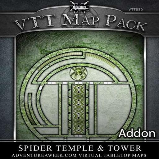 VTT Addon: Spider Temple and Tower