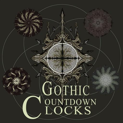 Gothic Countdown Clocks