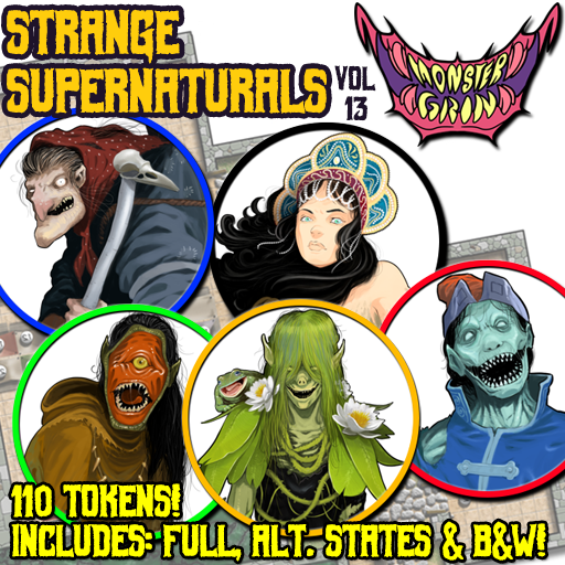 Strange Supernaturals, Vol. 13