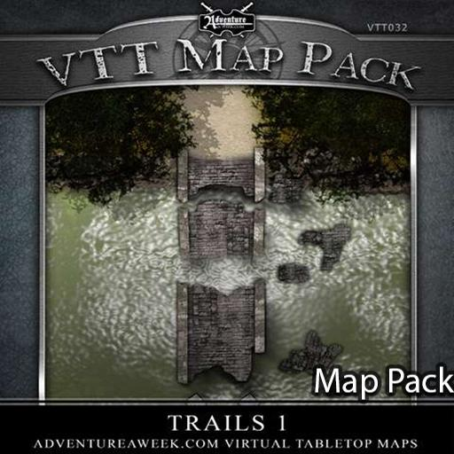 VTT Map Pack: Trails