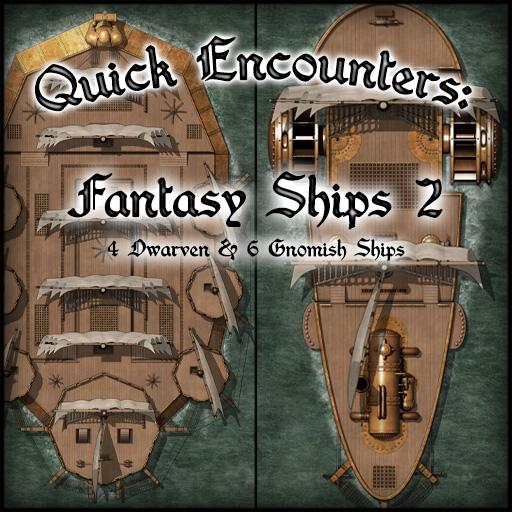 Quick Encounters: Fantasy Ships 2