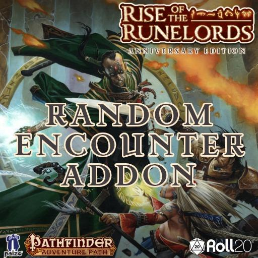 Rise of the Runelords (Random Encounter Creature Addon)