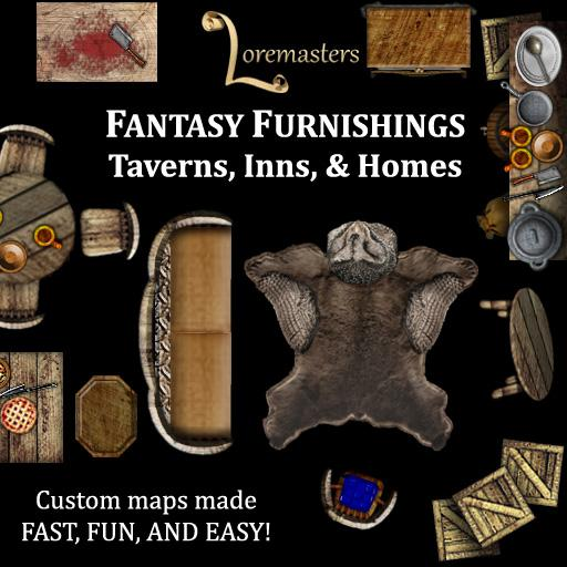 Fantasy Furnishings: Taverns, Inns, & Homes
