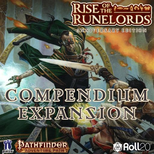 Rise of the Runelords Compendium Expansion