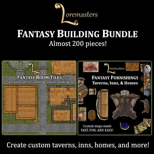 Fantasy Buildings & Furnishings Bundle