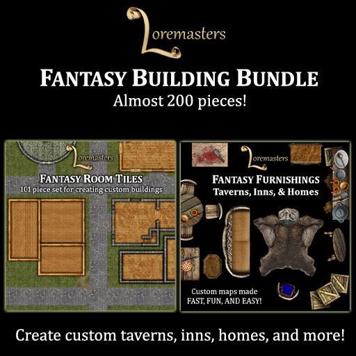 Fantasy Buildings & Furnishings Bundle