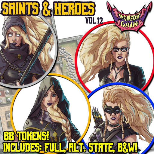 Saints & Heroes, Vol. 12
