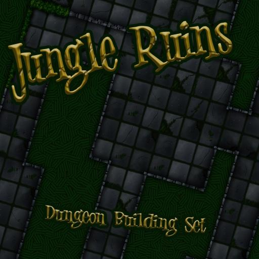 Jungle Ruins- Dungeon Building Set