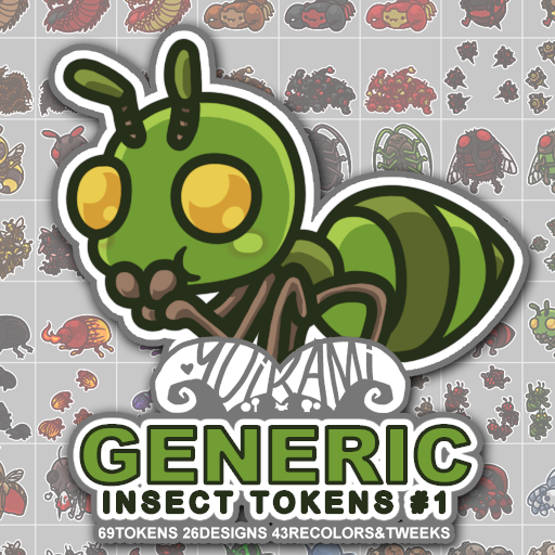 Generic Insect Tokens 1