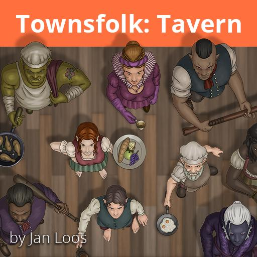 Jans Token Pack 9 - Townsfolk Tavern